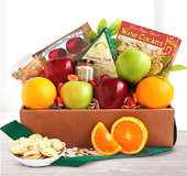 Deluxe Fruit and Cheese Box