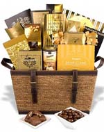 Golden Gourmet Gift Box