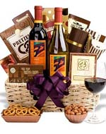 Royal Treatment Wine Basket
