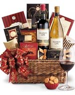 Califonia Wine basket