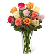 Graceful Grandeur Dozen Roses